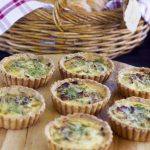Quiches from Pembroke Patisserie