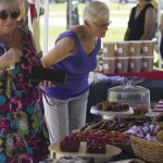 Customers at Pembroke Patisserie Wanaka Farmers Market