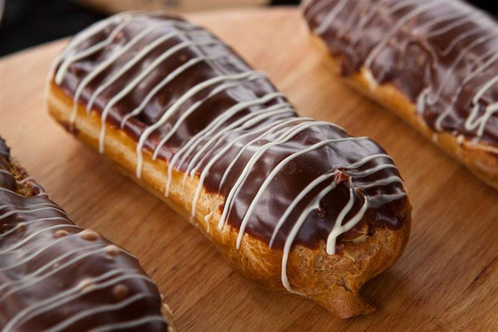 Chocolate Eclairs from Pembroke Patisserie, Wanaka