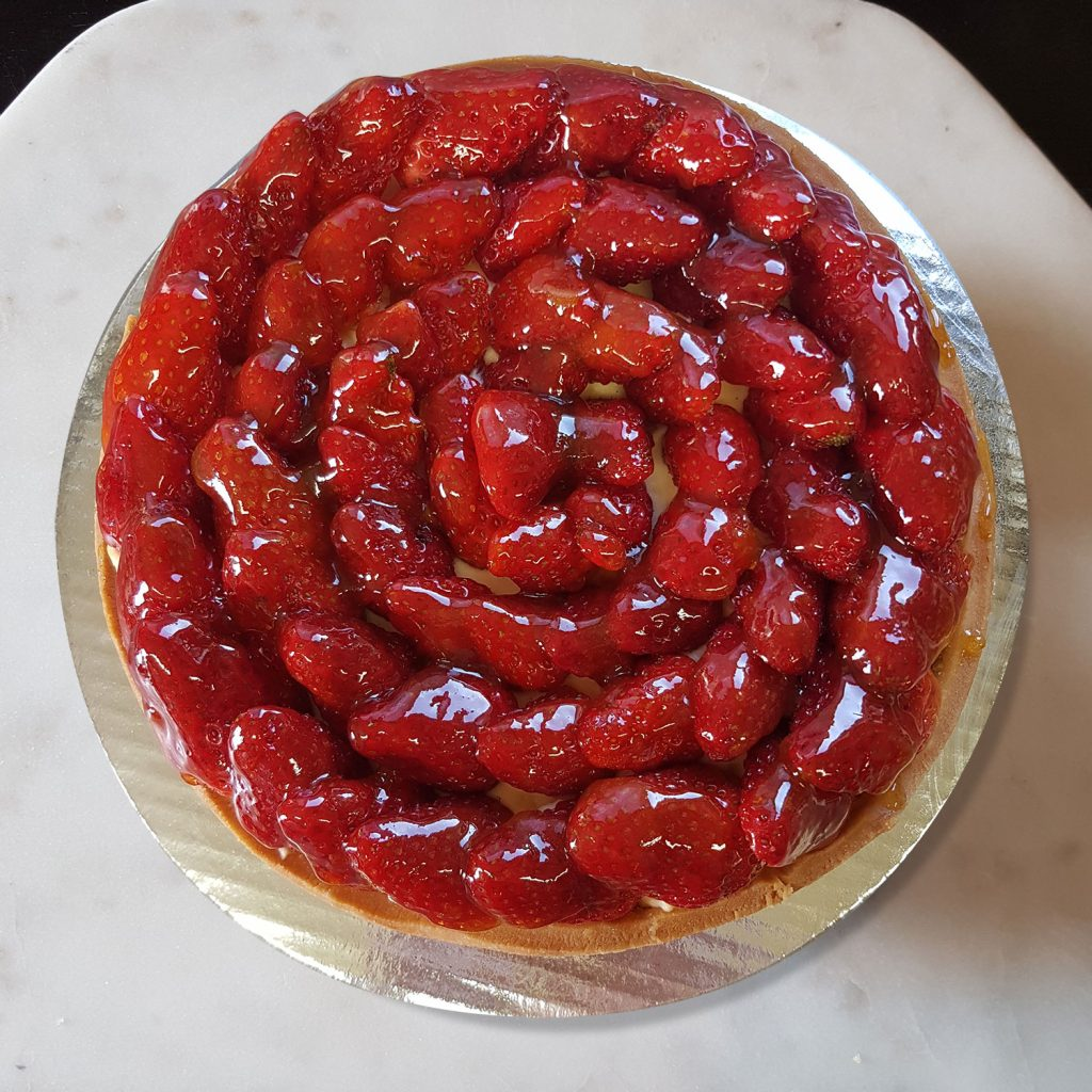 Large Strawberry Tart - Christmas Orders 2016