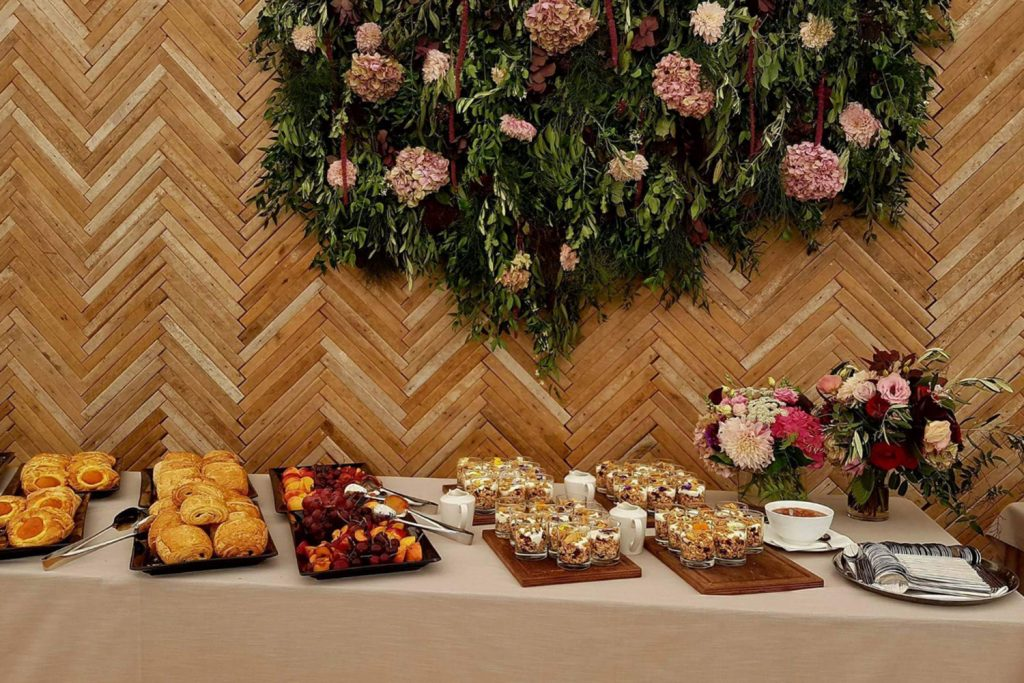 Pastries for breakfast - Myer Wedding in Wanaka