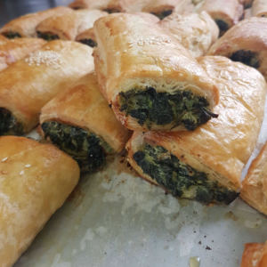 Spinach Feta Roll